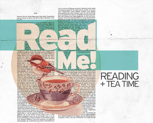 ReadMe! reading + tea time